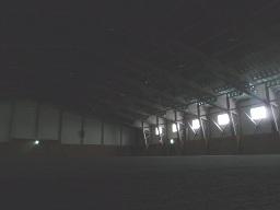 新しい体育館
