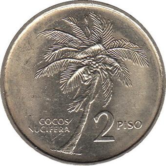 2ペソ銀貨