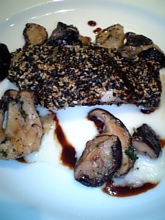 キノシタのメイン魚料理