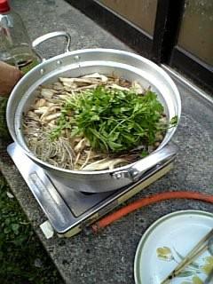 秋田のきりたんぽ鍋