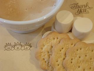 カフェオレとメープルクッキー