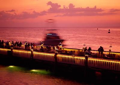 ホテルの桟橋