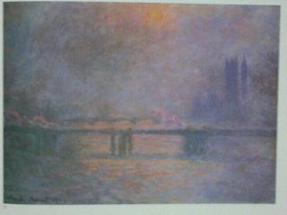 モネ:テムズ川のチャリング・クロス橋