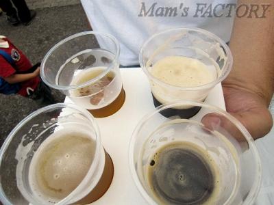 ビールで我慢