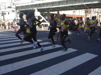 東京マラソン2013