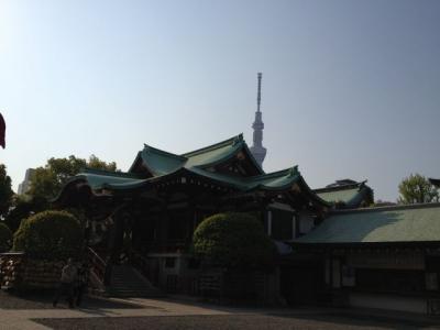 亀戸天神&東京スカイツリー