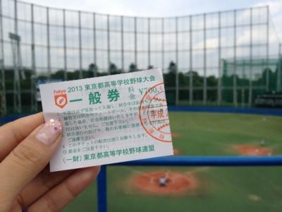 夏の高校野球 東東京予選