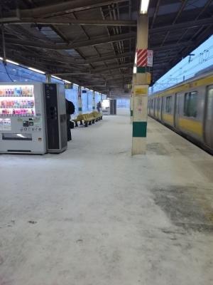 雪の平井駅