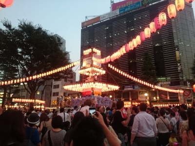 恵比寿の盆踊り