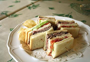 キッチン四季のサンドイッチ