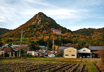 太郎坊宮の遠景