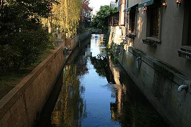 表参道の川