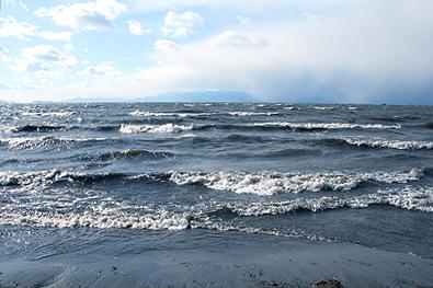 冬の琵琶湖1