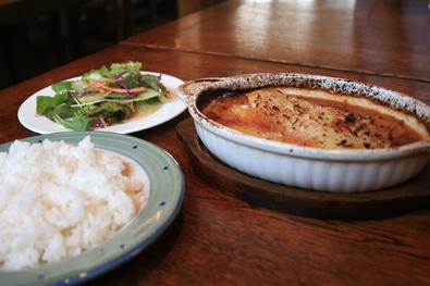 ひき肉とマッシュポテトのオーブン焼