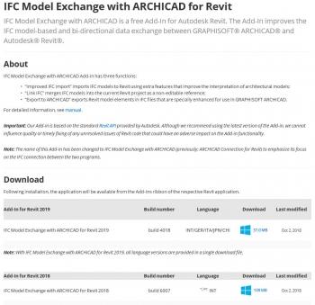 REVIT-AC用IFC