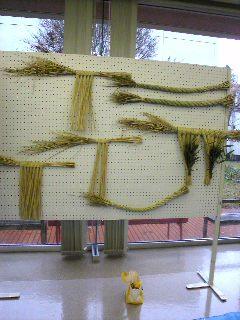 いろいろな形の注連縄飾り