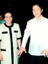 若王子氏とアキノ大統領