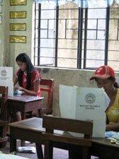 バランガイ選挙光景