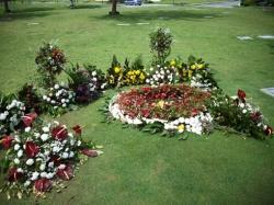 花に囲まれて死なん