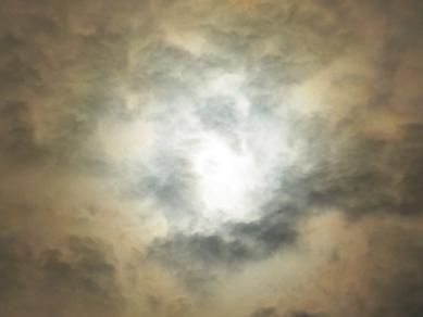 金環日食時の空