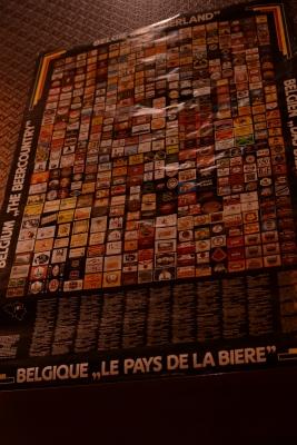 ベルギービールポスター