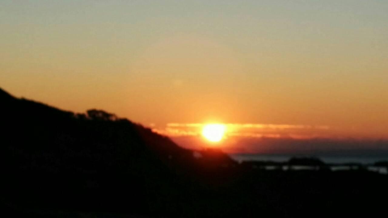城ヶ島からの初日の出
