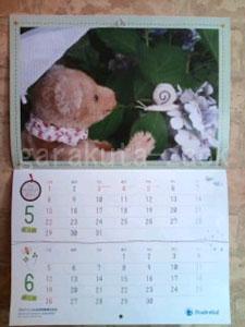 5、6月のカレンダーの画像