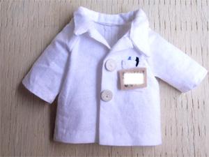 白衣の写真1