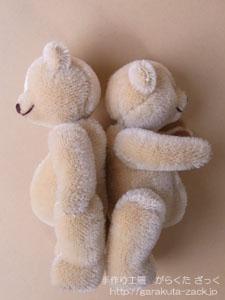 赤ちゃんベア2体の写真