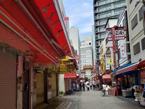 神戸南京町の様子