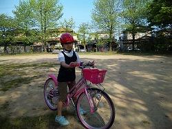 090502真由子自転車