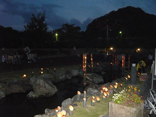 090921竹とうろう池