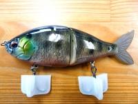 魚皮ルアー(エスフラット・ブルーギル)
