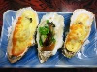 牡蠣のグラタン焼き&味噌焼き