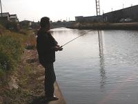 2012年11月13日ソウギョ釣り1