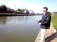 2012年11月13日ソウギョ釣り3