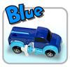 ブルー:プレゼントや誕生日に!ゼンマイ仕掛けのびっくり変形自動車【オート・トランスフォーマー/グリーン】【eモンズ】