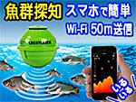 スマホで見れるWi-Fi対応 魚群探知機:LUCKY LAKER