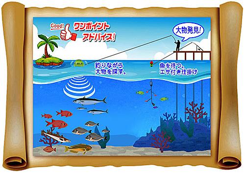大物ゲット!:スマホで見れるWi-Fi対応 魚群探知機:LUCKY LAKER