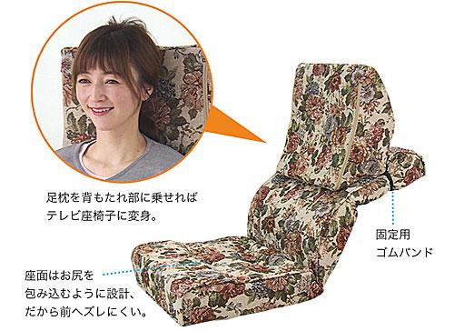 機能:楽!楽!多機能 万能座椅子