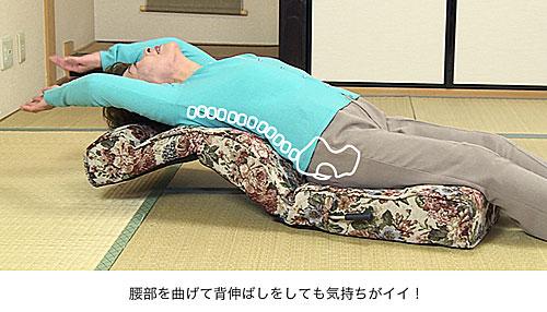 背伸ばしも:楽!楽!多機能 万能座椅子