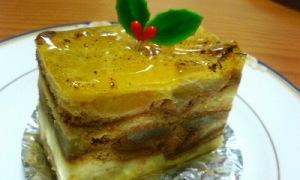 今日はこのケーキ(アップルシナモン)