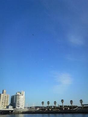 湘南の空はいいね!