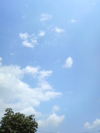 6月1日の空