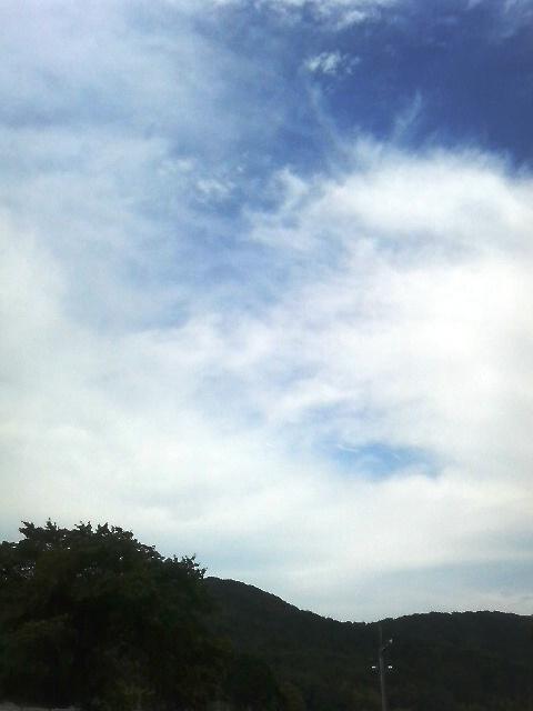 6月12日の空