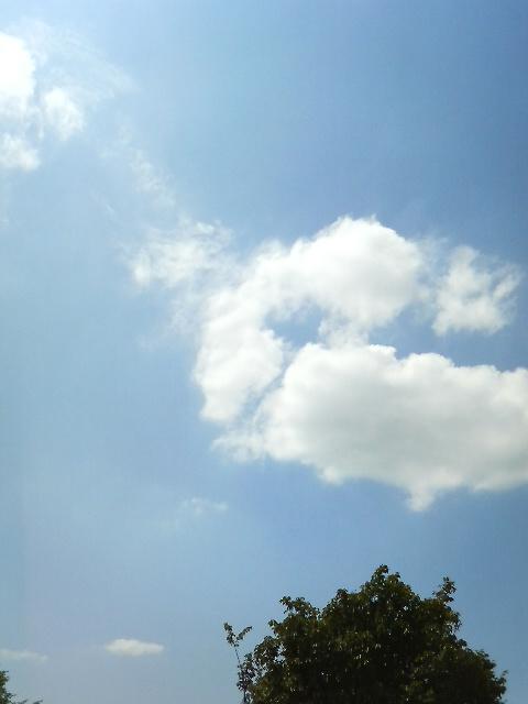 8月25日の空