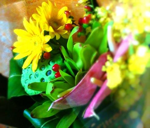 南国調の花束