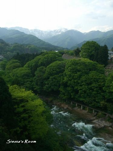 谷川岳と諏訪峡