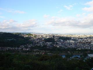 大吉山から