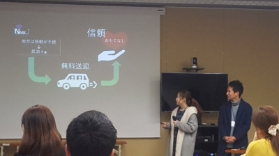 startup weekendのプレゼンテーション2